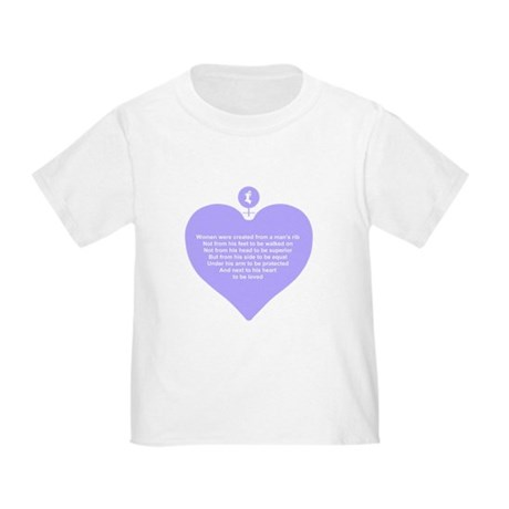 Purple Heart Toddler T-Shirt