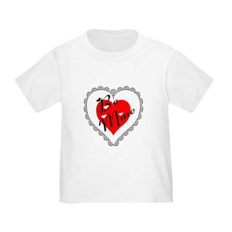 Lacy Heart Toddler T-Shirt