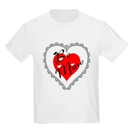 Lacy Heart Kids Light T-Shirt