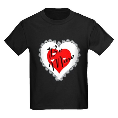 Lacy Heart Kids Dark T-Shirt