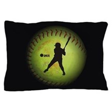 iHit Fastpitch Softball (left handed) Pillow Case