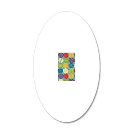 adfas 20x12 Oval Wall Decal