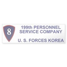 199th Personnel Service Co Bumper Sticker 2