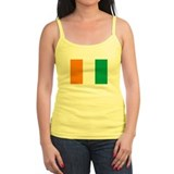 Cote D'lvoire Flag T Shirts Ladies Top