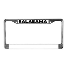 Alabama Hashtag License Plate Frame