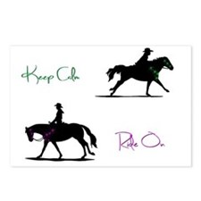 Keep Calm, Ride on! Postcards (Package of 8)