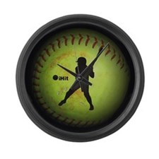 iHit Fastpitch Softball (left handed) Large Wall C