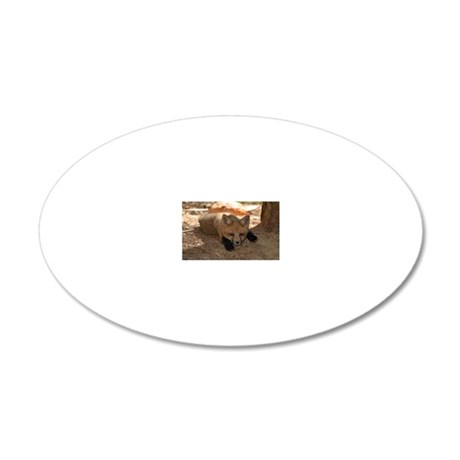 517_H_F oval patch  6 20x12 Oval Wall Decal