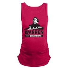 Elizabeth Warren for Everything Maternity Tank Top