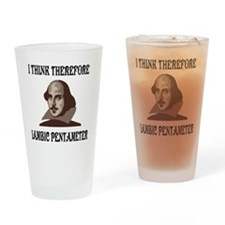 shakespeare-01 Drinking Glass