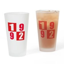 Born In 1992 Designs Drinking Glass