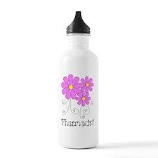 Pharmacist Blue Pink F Water Bottle