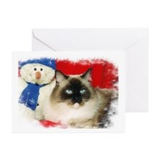 Ragdoll Cat/RCN Greeting Cards (Pk of 10)