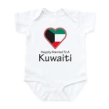 Happily Married Kuwaiti Infant Bodysuit