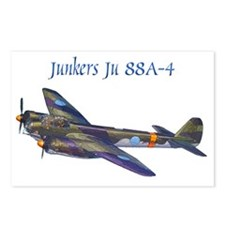 Junkers Ju 88A-4 w text Postcards (Package of 8)