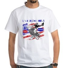 Merica Eagle and Cowboy Shirt