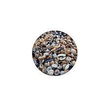 Seashells Galore Mini Button