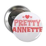 "Annette 2.25"" Button (10 pack)"