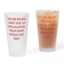 explanation Drinking Glass