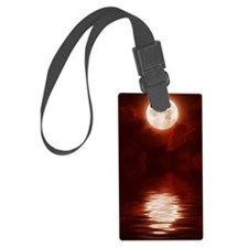 Clouds-BloodRed Luggage Tag