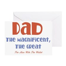 Dad the Magnificent Greeting Card