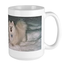 American Eskimo At Home in Snow Mug