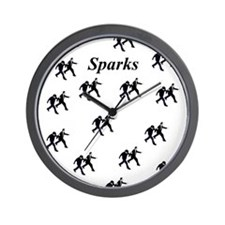 Sparks Walking Wall Clock