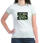 Snow Plant Jr. Ringer T-Shirt