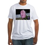 Snow Hyacinth Fitted T-Shirt