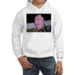 Snow Hyacinth Hooded Sweatshirt