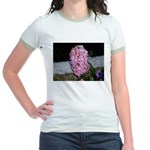 Snow Hyacinth Jr. Ringer T-Shirt