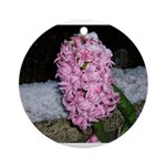 Snow Hyacinth Ornament (Round)