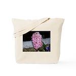 Snow Hyacinth Tote Bag