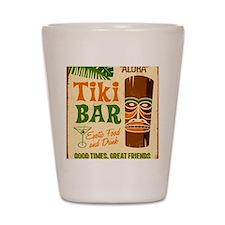 Tiki Bar  Shot Glass