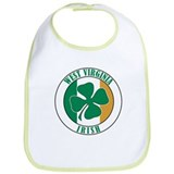 West Virginia Irish Bib