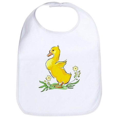Cute Easter Duck Bib