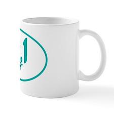Teal 13.1 half-marathon Mug
