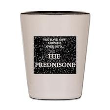 The Prednisone Shot Glass