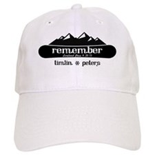 Moutains and Board - Timlin and Peters Baseball Cap