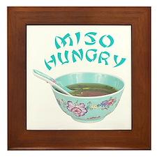 Miso Hungry Framed Tile