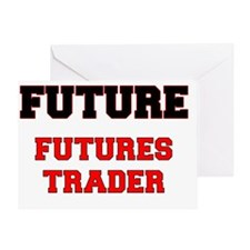 Future Futures Trader Greeting Card