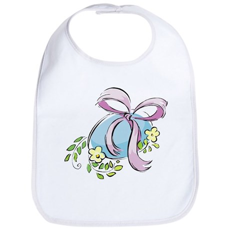 Pretty Easter Egg Bib