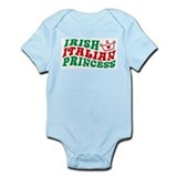 Irish Italian Princess Infant Bodysuit
