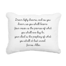 dream Rectangular Canvas Pillow