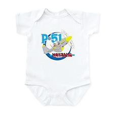 P-51 MUSTANG II Infant Bodysuit