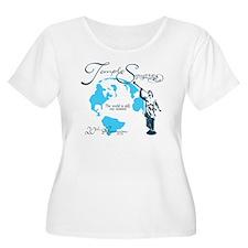tsquare back  T-Shirt