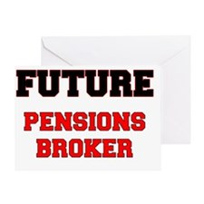 Future Pensions Broker Greeting Card