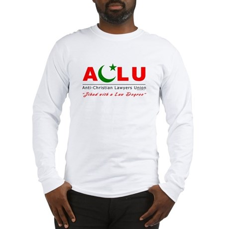 Anti-Christian Long Sleeve T-Shirt