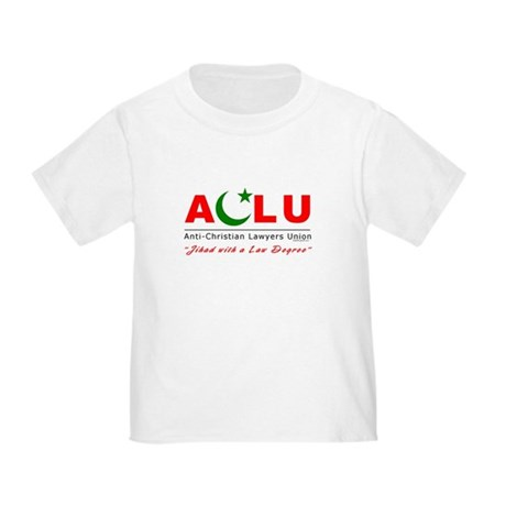 Anti-Christian Toddler T-Shirt