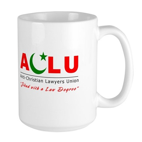 Anti-Christian Large Mug